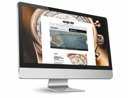 EUROPA STAR LAUNCHES NEW WEBSITES