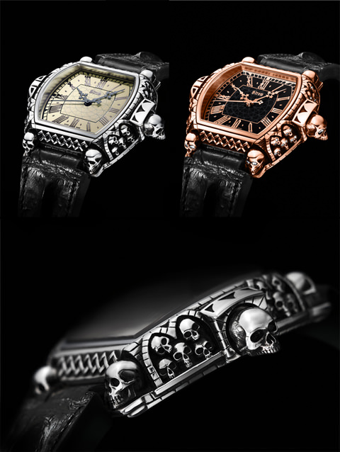 "Strom Watches ""Memento Mori"" Watch"