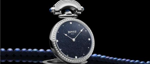 Bovet: a new Miss Audrey in blue aventurine