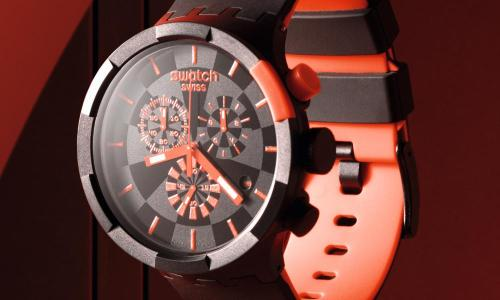 Swatch Big Bold Chrono with stopwatch function