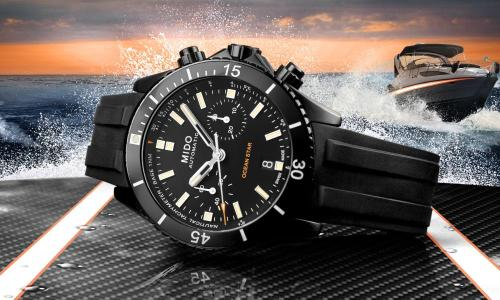 Mido Ocean Star Chronograph: shaped for the seas