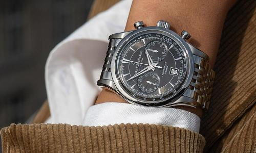 CarL F. Bucherer and The Manero Flyback's Cosmopolitan Spirit