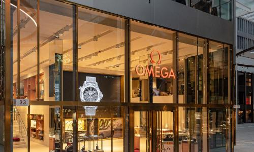 "Omega opens a new ""immersive"" boutique at Zurich Airport"