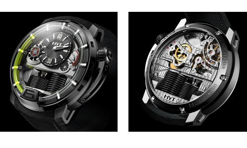 HYT's hydro-mechanical movement: first glimpse