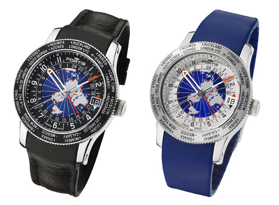 A New Limited Edition World Timer by Fortis