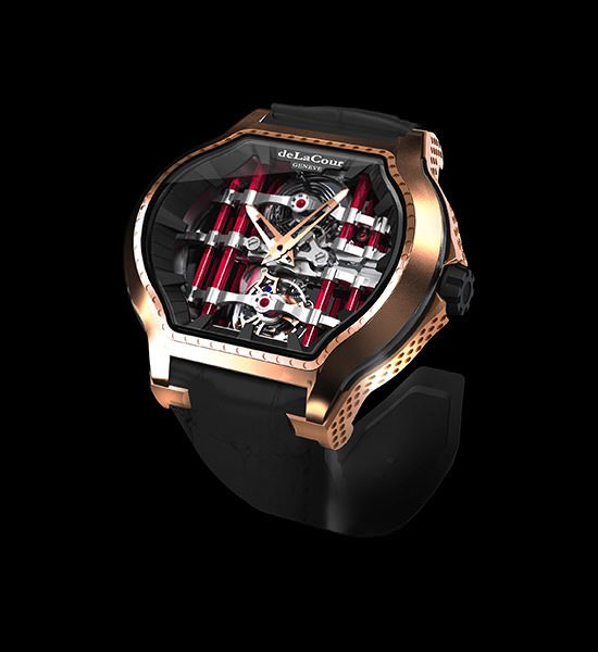 The Tourbillon Reflect by deLaCour