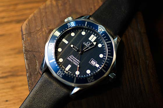 "The Omega Seamaster from ""GoldenEye"""