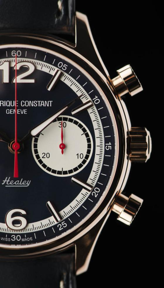 Introducing the Frédérique Constant Vintage Rally Healey Chronograph