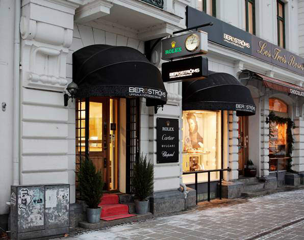 The flagship store of Bergströms Ur in Malmö
