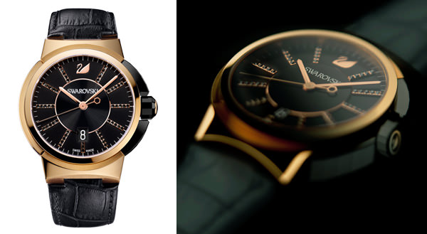 Swarovski will present its first Men's watch collection at BaselWorld