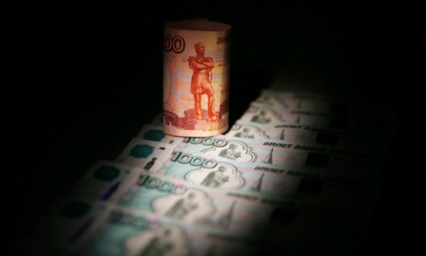 The falling rouble made news last year