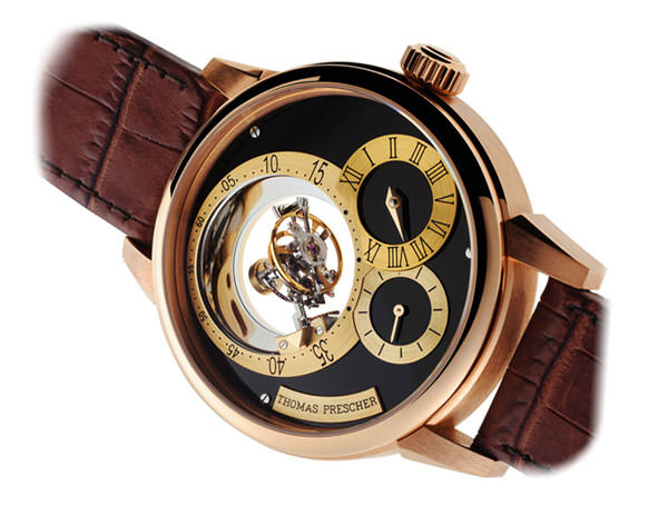 Thomas Prescher presents the Triple Axis Tourbillon Regulator