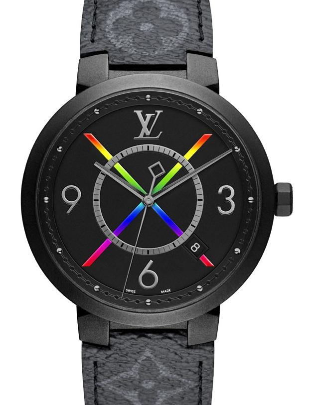 Louis Vuitton Tambour Slim Rainbow
