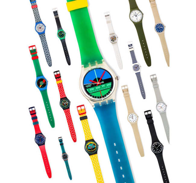 Swatch, constantly breaking the mould