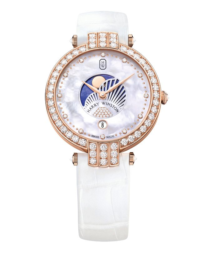 Premier Moon-Phase 36 mm by Harry Winston