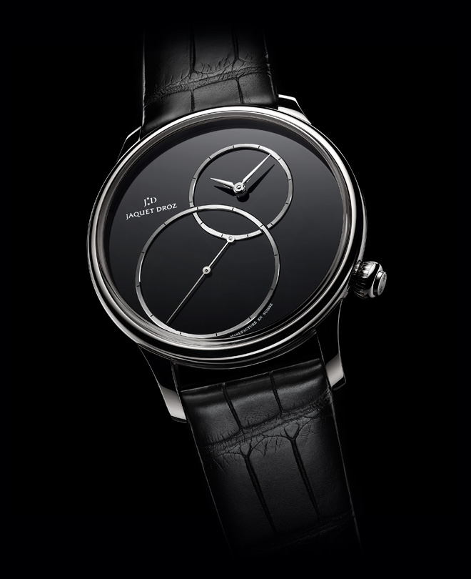 Grande Seconde Off-Centered Onyx by Jaquet-Droz