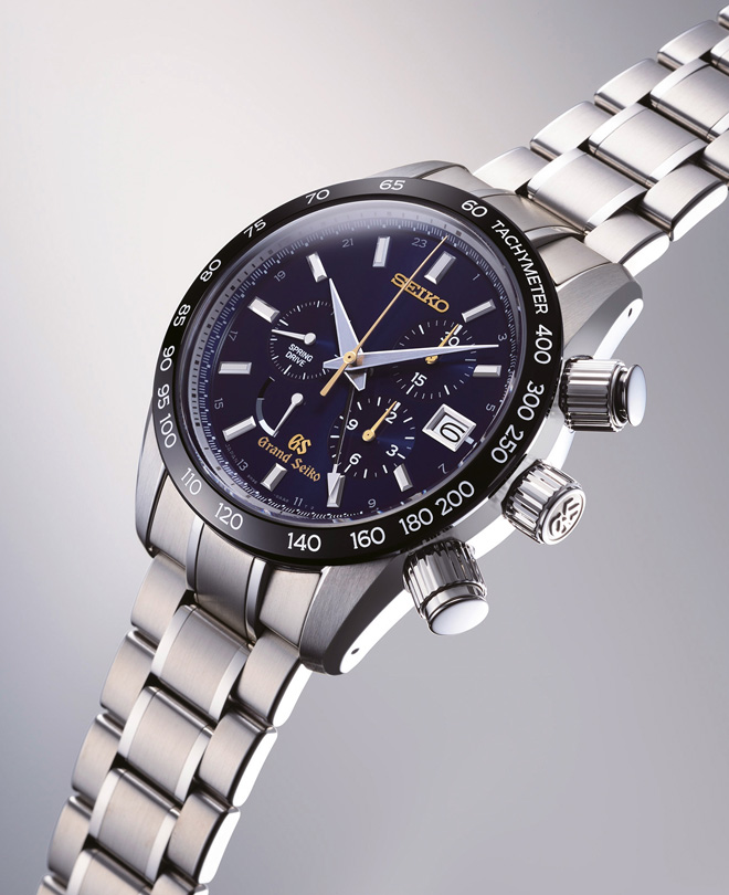 The Grand Seiko 55th Anniversary Spring Drive Chronograph Limited Edition by Seiko