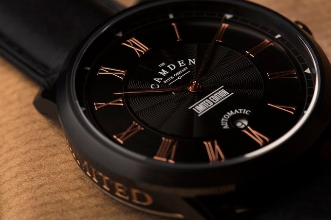 Camden Watch Company launches first automatic model