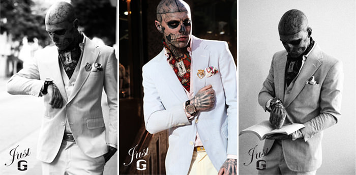 "Just G Watch Campaign featuring ""Zombie Boy"""