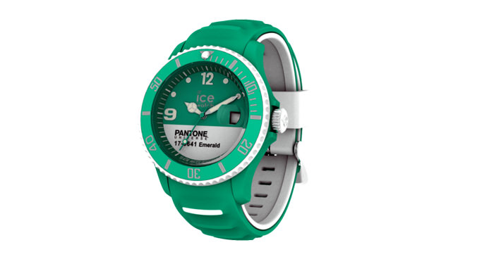PANTONE UNIVERSETM EMERALD / WHITE by Ice-Watch