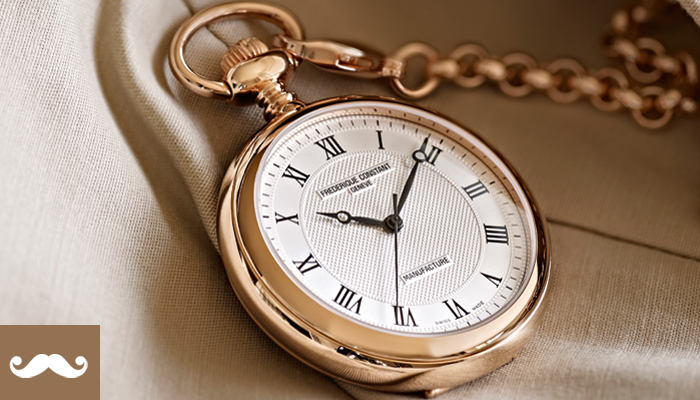 MANUFACTURE POCKET WATCH BY FREDERIQUE CONSTANT