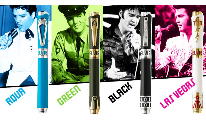 The Elvis (Icons) Collection by Montegrappa