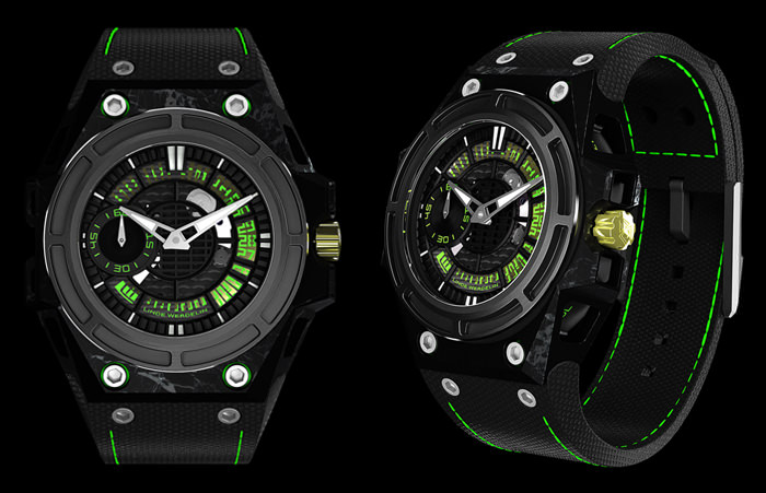 SpidoLite II Tech Green by Linde Werdelin