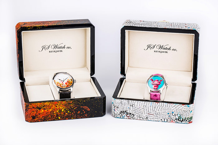 JS Watch co. and Tolli and Lína Rut's creations to support KRAFTUR