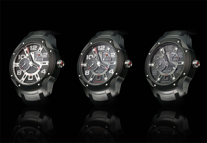Race Pilot Timpieces - Three Models by Halda