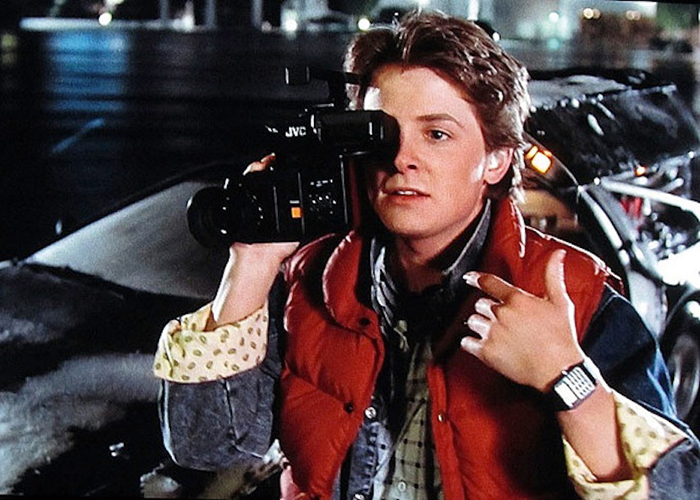 Back to The Future Marty Mcfly Watch Marty Mcfly in The Movie 'back