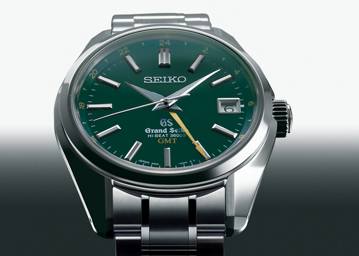 Hi-Beat 36000 GMT by Grand Seiko (Front)