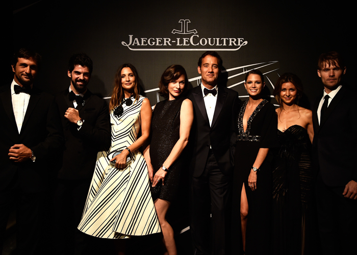 Guests at the Jaeger-LeCoultre Gala Dinner in Venice (September 2014)