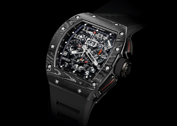 RM 011 NTPT® carbon self-winding watch by Richard Mille