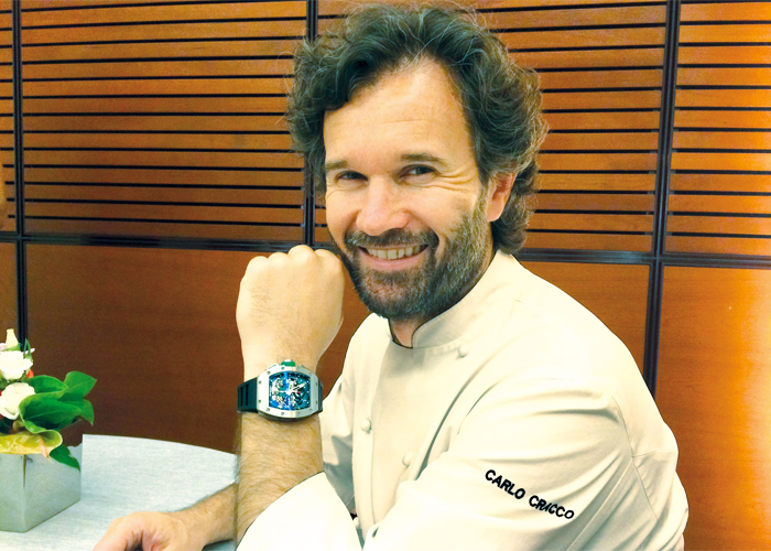 Carlo Cracco, New Partner of Richard Mille