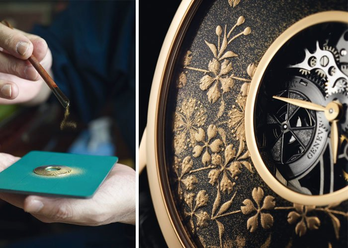 Symbolique des Laques collection - The encounter between two cultures: Vacheron Constantin (established in 1755, Switzerland) and Zohiko (established in 1661, Japan).