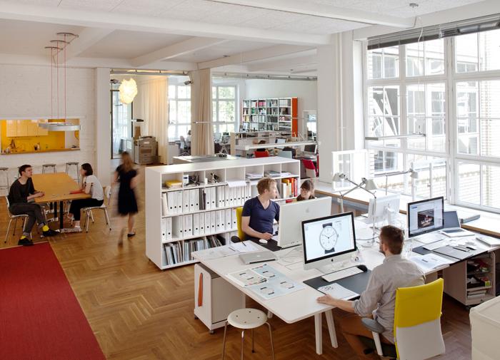 The Berlinerblau / Nomos workshops in the German capital city.