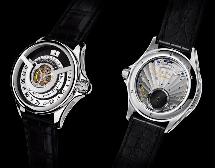 Fonderie 47 Inversion Principle Timepiece (Front & Back)