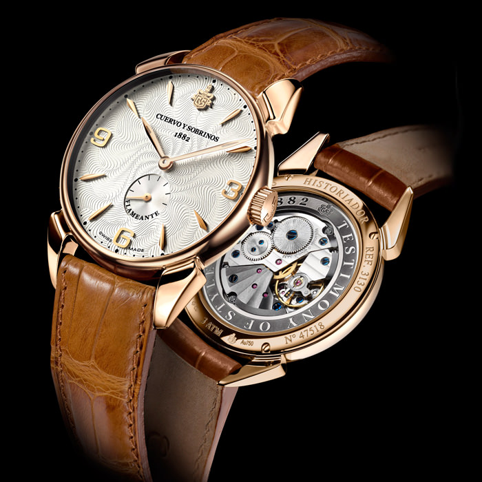 Cuervo y Sobrinos unveils the new Historiador Flameante as Baselworld 2013 Preview