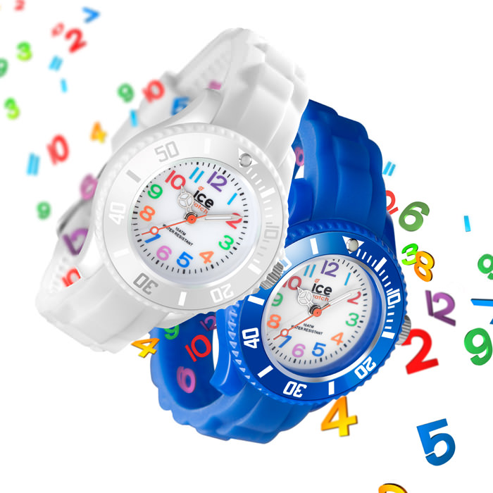 Ice-Watch's Ice-Mini in White & Blue