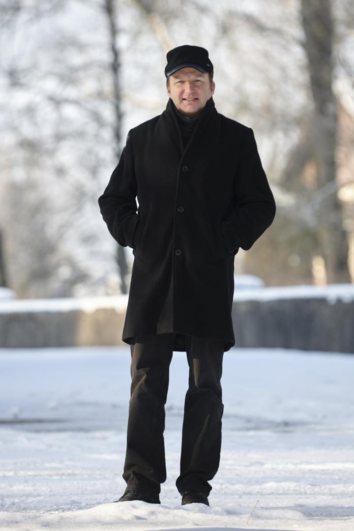 Kari Voutilainen in the winter of 2021