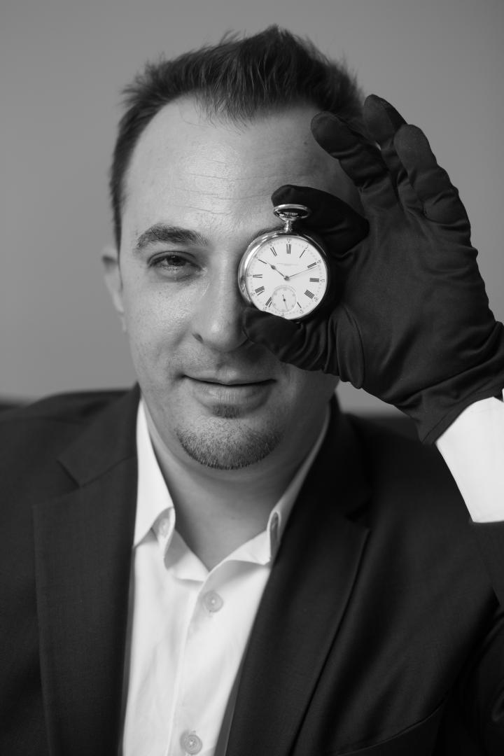 Remy Julia, Head of Watches Middle East/India/Africa/Russia at Christie's, organized a digital auction this year.