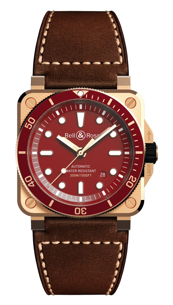 Introducing the Bell & Ross 03-92 Diver Red Bronze