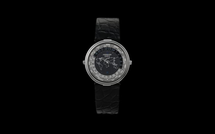 Mundus, the world's thinnest worldtime watch