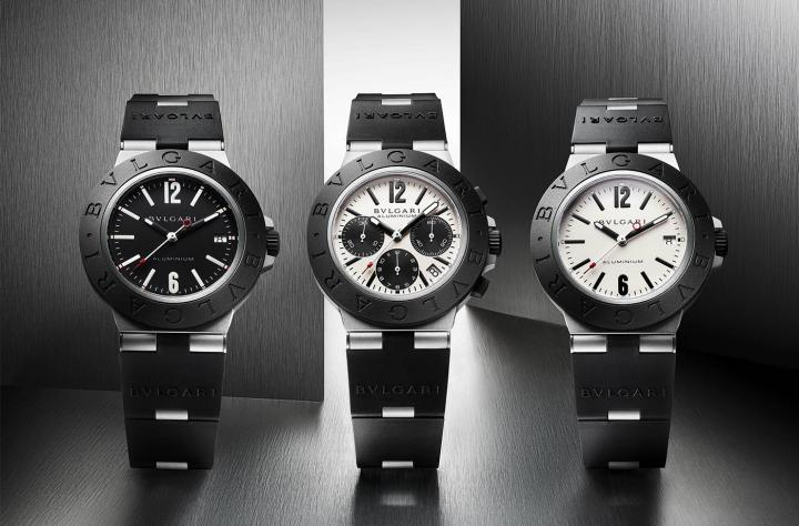 The Aluminium collection was relaunched last year by Bulgari.