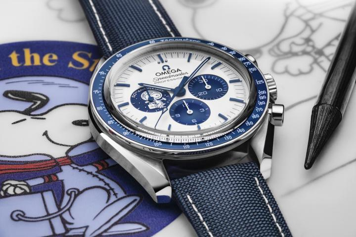 """Launched last year by Omega, the Speedmaster """"Silver Snoopy Award"""" 50th Anniversary is only available through long waiting lists."""