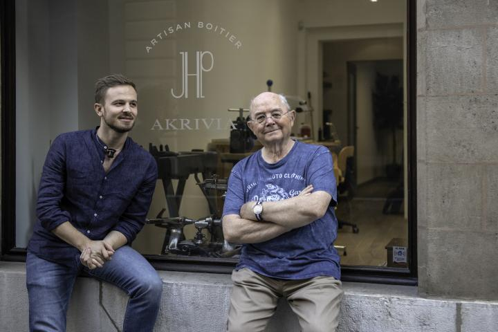 Rexhep Rexhepi joined forces with Jean-Pierre Hagmann, a legendary master casemaker.