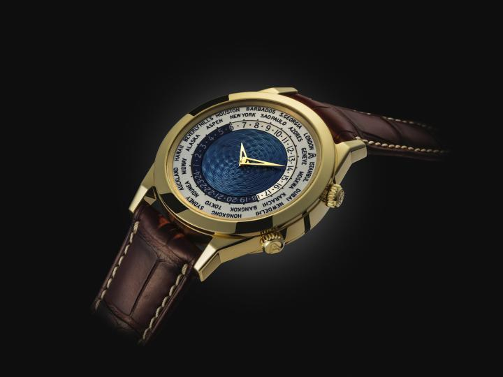 """In 2015 the 5th edition of World Time watch – the """"Tempus Terrae""""- commemorated the first World Time wrist watch with two crowns developed by Louis Cottier in the 1950s."""