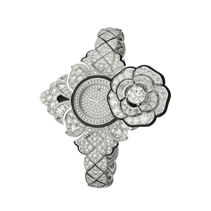 The Camélia Baroque Watch from Chanel's Escale à Venise collection