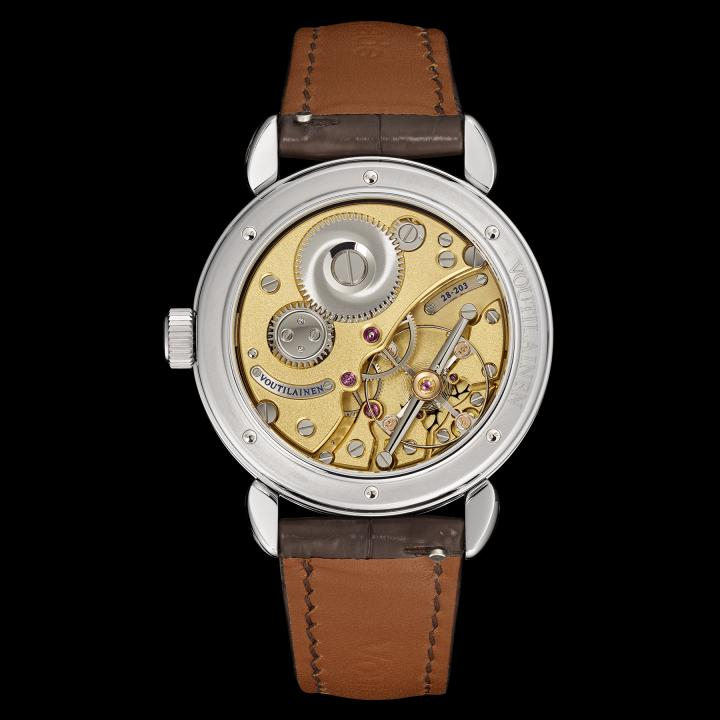A view of the Green Garden one-off watch's movement