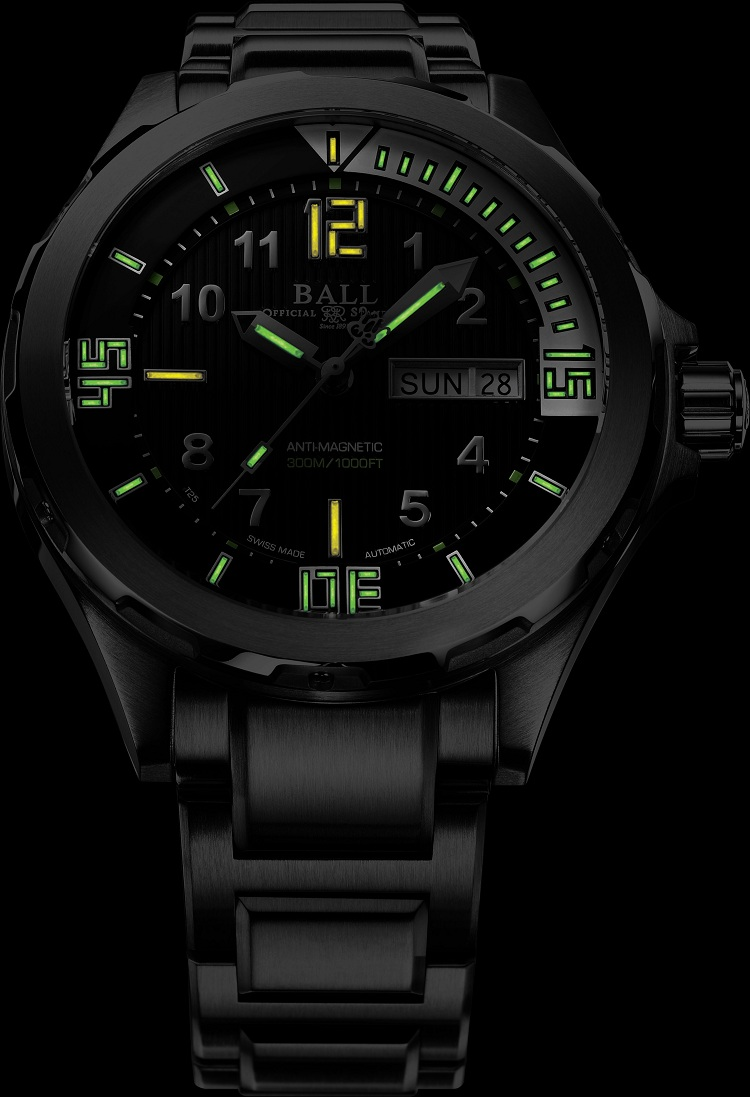 Master the depths with Ball Watch's new diver